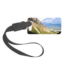 A view from Skookum Volcano Trai Luggage Tag