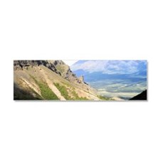 A view from Skookum Volcano Trai Car Magnet 10 x 3