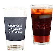 EETrainingRound Drinking Glass