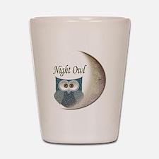 Night Owl Shot Glass