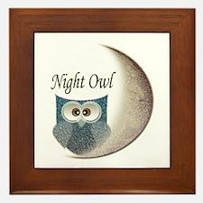 Night Owl Framed Tile