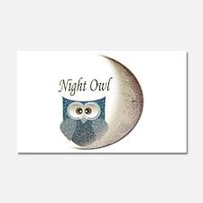 Night Owl Car Magnet 20 x 12
