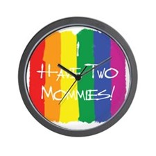 TwoMommies Wall Clock