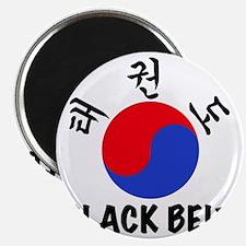 TKD(HG) Black Belt Um-Yang (1) Magnet