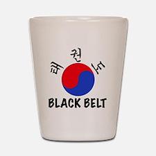 TKD(HG) Black Belt Um-Yang (1) Shot Glass