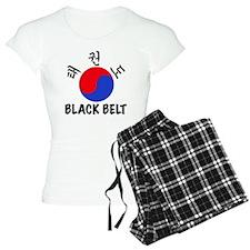TKD(HG) Black Belt Um-Yang  Pajamas