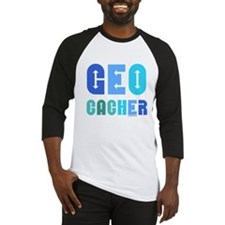 Geocacher Arrows Blue Baseball Jersey