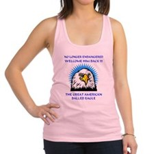 INDEPENDENCE  DAY Macho Eagle Racerback Tank Top
