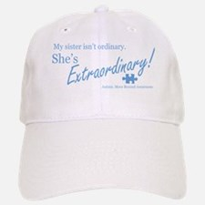 extraordinary-sister-blue-lowered Baseball Baseball Cap