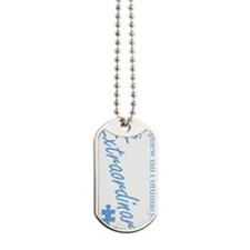extraordinary-nephew-blue-rotated Dog Tags