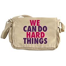 wecandohard Messenger Bag