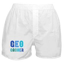 Geocacher Arrows Blue Boxer Shorts