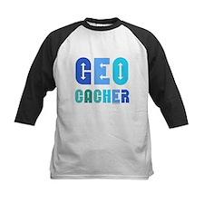 Geocacher Arrows Blue Tee