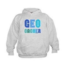 Geocacher Arrows Blue Hoodie