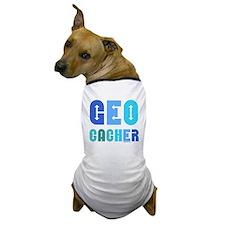 Geocacher Arrows Blue Dog T-Shirt