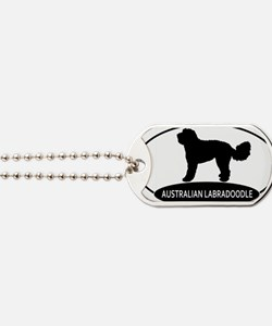 labradoodle2 Dog Tags