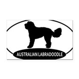 Australian labradoodle Car Magnets