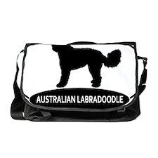 labradoodle2 Messenger Bag