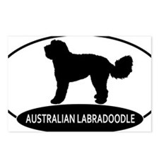 labradoodle2 Postcards (Package of 8)