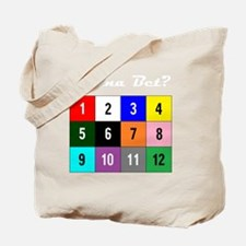 WannaBet white 10x10 200px Tote Bag