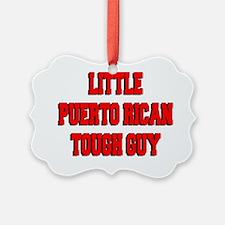 Little Puerto Rican Tough Guy Ornament