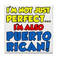 Not Just Perfect Puerto Rican Tile Coaster