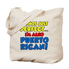 Not Just Perfect Puerto Rican Tote Bag