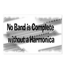 Harmonica Postcards (Package of 8)