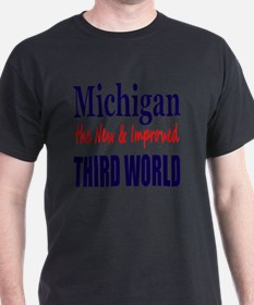 Michigan 3rd World Lt Tshirt T-Shirt