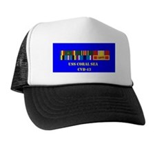 uss-coral-sea-cbv-43 Trucker Hat