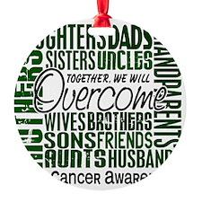 LIVER CANCER Ornament