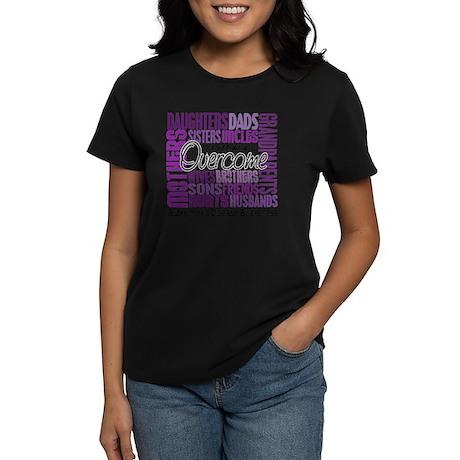 ALZHEIMERS DISEASE Women's Dark T-Shirt