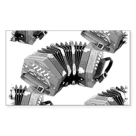Concertina Sticker (Rectangle)