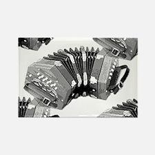 Concertina Rectangle Magnet