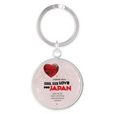 SSL_japan_tee_color Round Keychain