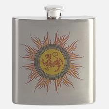 SHOTOKAN_TIGER_5x4_pocket Flask