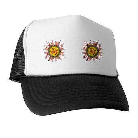 SHOTOKAN_TIGER_8.31x3_bev Trucker Hat