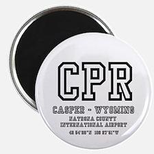 AIRPORT CODES - CPR - CASPER, WYOMING Magnet