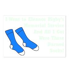 Darned Socks mint Postcards (Package of 8)