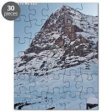 Switzerland - Eiger Nordwand and Train Puzzle