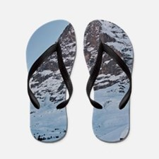 Switzerland - Eiger Nordwand and Train Flip Flops