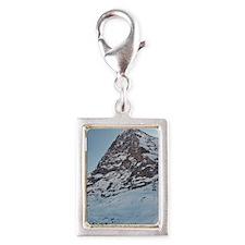 Switzerland - Eiger Nordwand Silver Portrait Charm