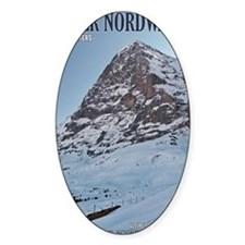 Switzerland - Eiger Nordwand and Tr Decal
