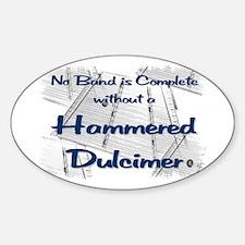Hammered Dulcimer Decal
