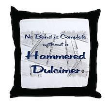 Hammered Dulcimer Throw Pillow