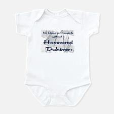 Hammered Dulcimer Infant Bodysuit