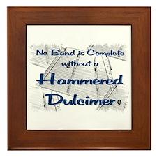 Hammered Dulcimer Framed Tile