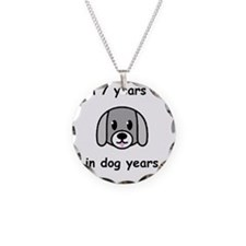 7 dog years 2 Necklace