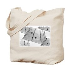 Hammered Dulcimer Tote Bag