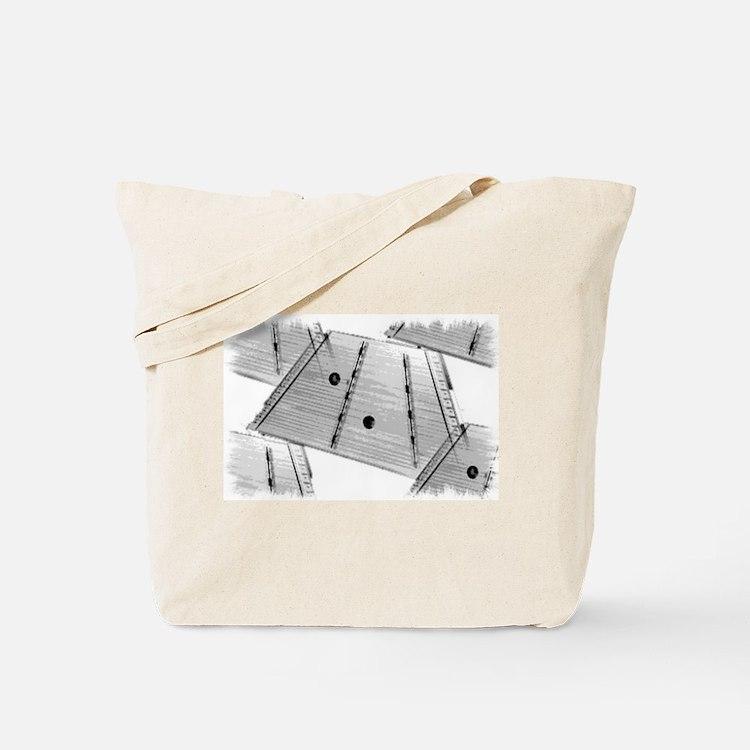 Hammered Dulcimer Tote Bag